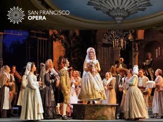 Моцарт Свадьба Фигаро Акты I, II / THE MARRIAGE OF FIGARO - San Francisco Opera 2015