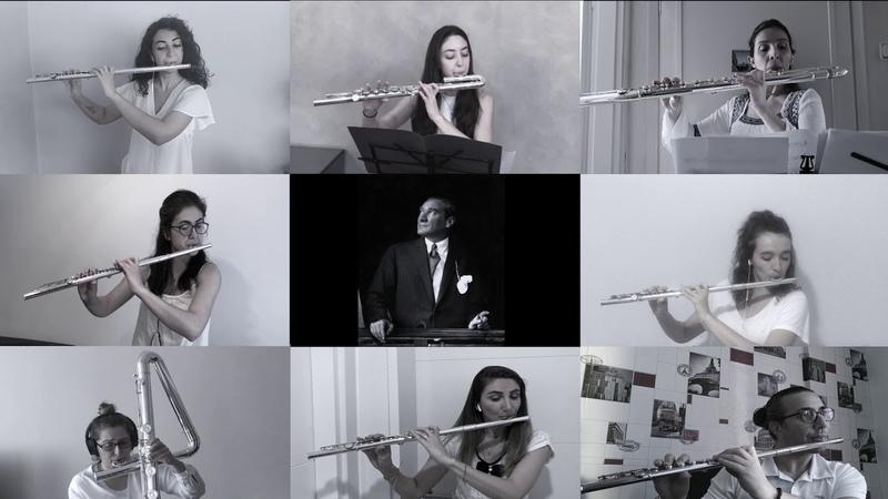 10 Kasım Atatürk'ü anma günü Marmara Flüt Orkestrası