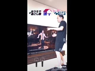 The Japanese comedian Saito-san did a copy of Vs video, its so realistic  (Hes worked w BTS multiple times on radio show a