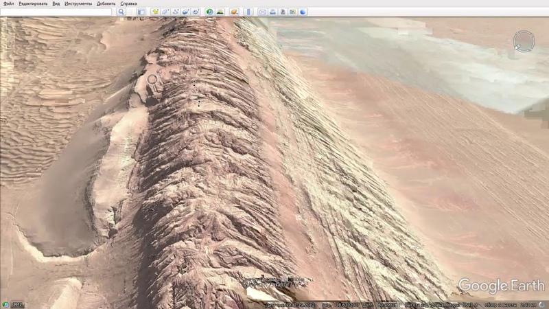 Стена которая сдерживала одну из самых гигантских пустынь