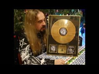 CATHARSIS. Коллекционное издание альбома 'ЗЕРКАЛО СУДЬБЫ' (золотая пластинка в рамке)