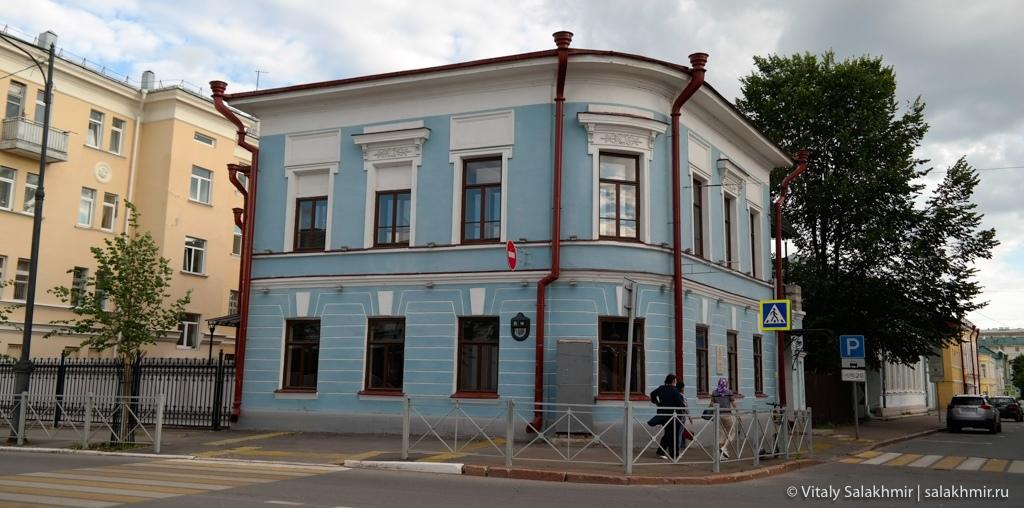 Дома в историческом центре Казани, путешествие в Татарстан 2020
