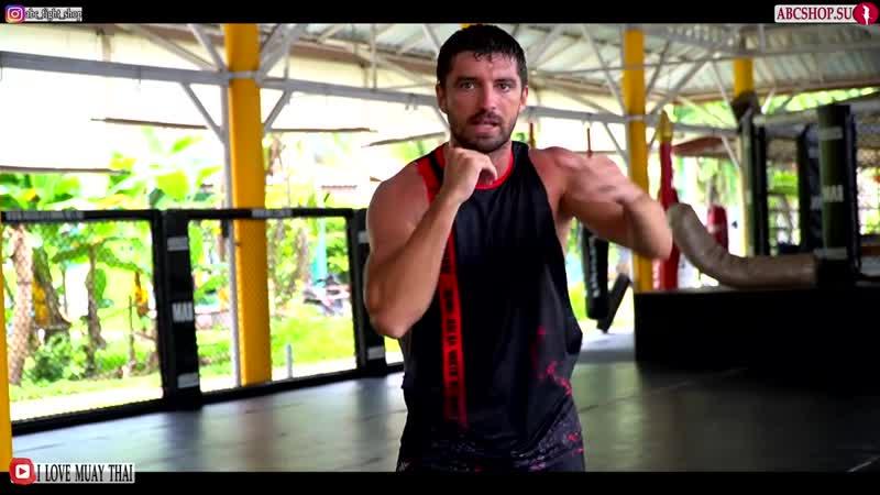 Тренировка нокаутирующего удара с Виталий Дунец Как увеличить силу и скорость удара в Муай Тай