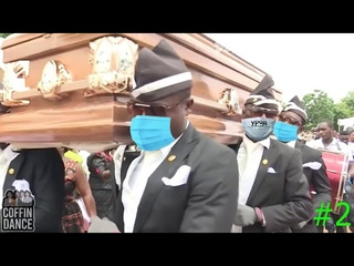 Сборник мемов про гроб на карантине | FUNNY COFFIN DANCE MEME in quarantine