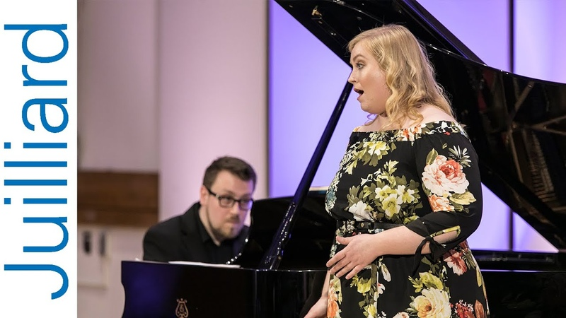 Kathleen O'Mara, soprano Michał Biel, pianist | Juilliard Yannick Nézet-Séguin Master Class