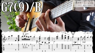 Georgia on my mind/Ray Charles/complete guitar solo arrangement #2 (PDF&TAB)