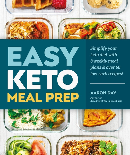 Easy Keto Meal Prep - Aaron Day