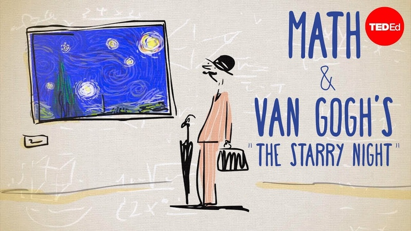 The unexpected math behind Van Goghs Starry Night - Natalya St. Clair