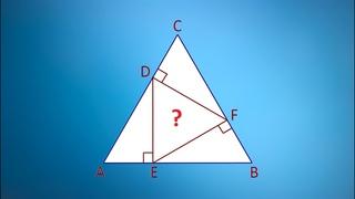 Найдите площадь треугольника на рисунке ★ Простая геометрия