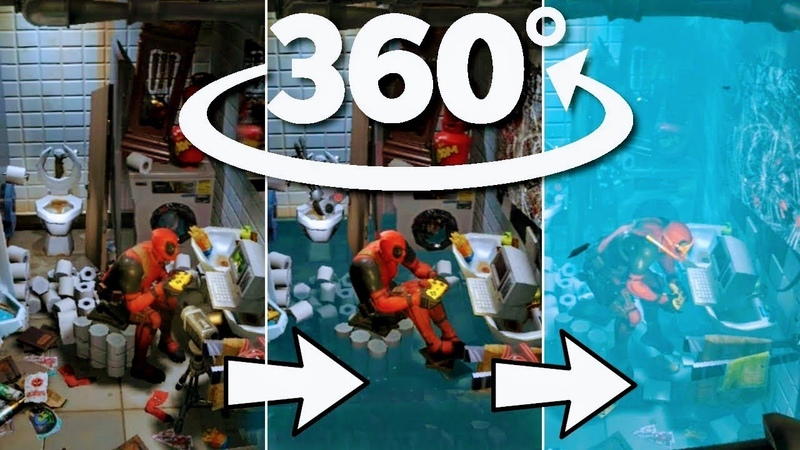 Evolution of Deadpool's Secret Lair in 360° Behind the Scenes Virtual Reality Experience