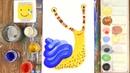 АЛФАВИТ для малышей от А до Я/ Рисуем АЛФАВИТ/ Буквы/ Урок рисования для детей