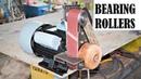 Making a Powerful Belt Sander Using Bearings