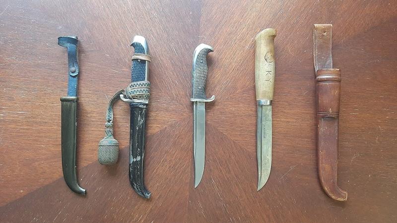 Финские армейские ножи М19 и М27 Gallen Kallela и Ukko Pekka 1919 1944 WW2 Зимняя Война ВОВ
