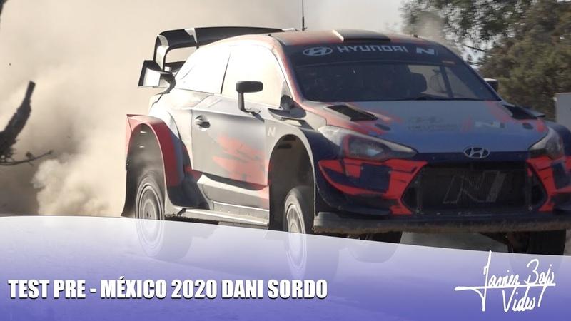 Test Pre México 2020 Dani Sordo Carlos Del Barrio Hyundai Motorsport