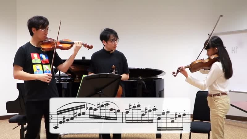 [RUS SUB] Мастер-класс от продиджи | World Class Prodigy Violinist Chloe Chua Gives TwoSet a Violin Lesson