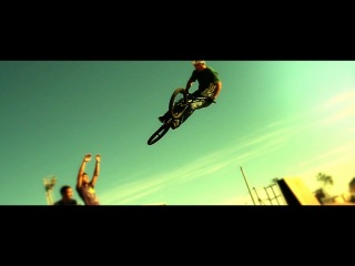 Ride, super slow motion freestyle bmx ннн
