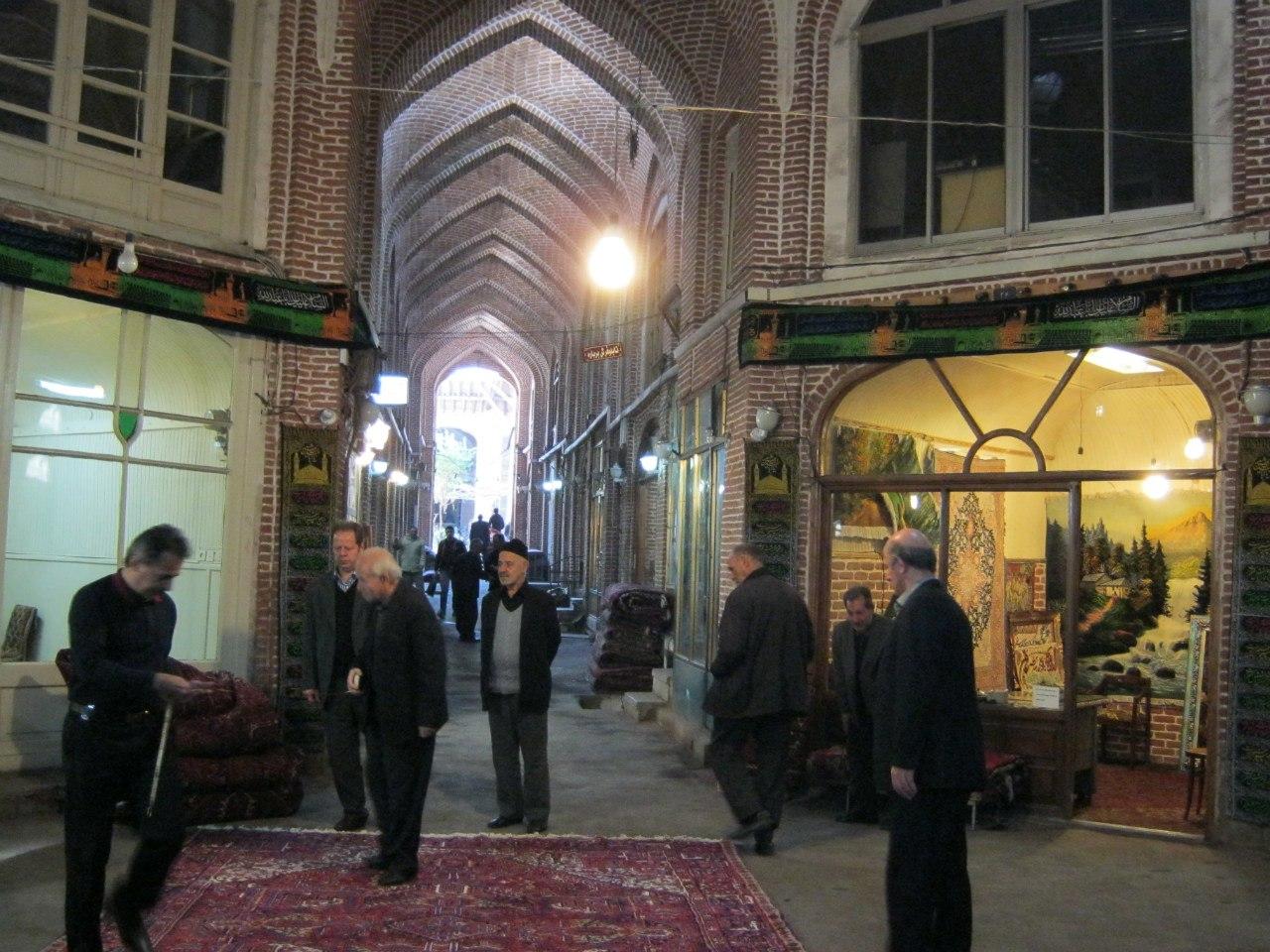 базар в Тебризе