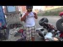 Авария YAMAHA YFM 700 RAPTOR [Full HD]