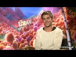 Интервью PopSugar: Зак говорит о Лораксе и о его новых фильмах