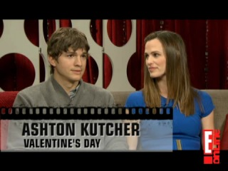 E!News. Jennifer Garner and Ashton Kutcher о фильме День Святого Валентина (2010)