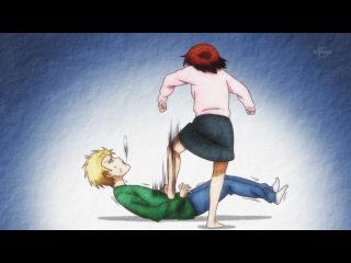 Повседневная жизнь старшеклассников / Danshi Koukousei no Nichijou - 1 сезон 10 серия JAM & Eladiel