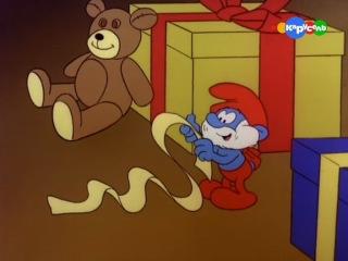 Смурфики. 3 сезон 26 серия. Первое Рождество Крошки Смурфа
