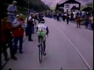 Giro d'Italia 1995 Tappa 14 Trento Val Senales 240 Km 26 ma Oliverio Rincón