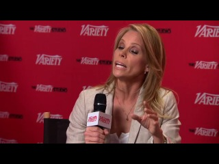 Kaley Cuoco on the Variety Emmy Studio, may 2012