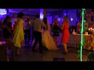 """Наша свадьба! Танцуем под """"видели ночь"""" :) Оля подглядела ))"""