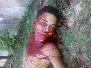 труп подростка убитого в понажовщине