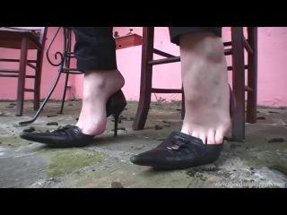 Shoe dangling pov 2
