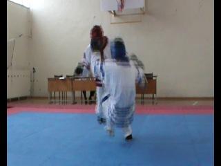 ЦЫБИН ПАВЕЛ ЗЛАТОУСТ- КРАСНОГОРСК (финальный бой ) 2й - раунд.