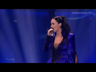 Tinkara kovač round and round (slovenia) live eurovision song contest 2014 grand final / евровидение 2014 / финал / словения