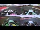 Mercedes McLaren Caterham ve Force India nın pole turu karşılaştırması