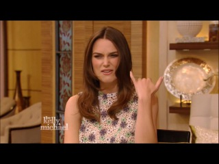 Keira knightley live with kelly and michael 11-18-2014