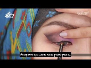 rus sub Pony's Beauty Diary - Hijab Makeup