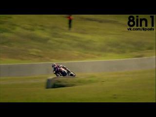 Фестиваль Топ Гир гонка между мотоциклом суперкаром и машиной Формулы 1 Supercar Vs Moto Vs F1 Top Gear Festival