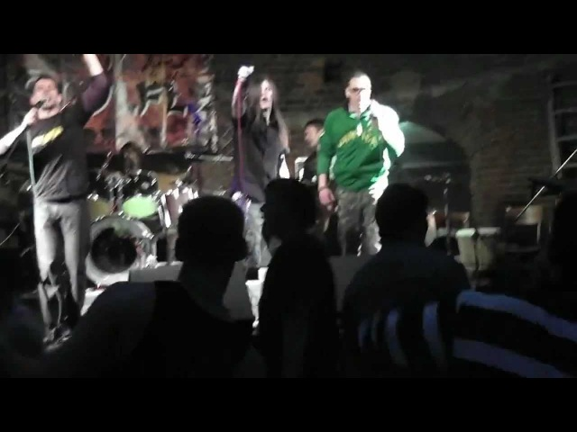 SoulRise Tribute to Soulfly Umbabarauma Der Wrangel Tower 22 04 2012 vox by St