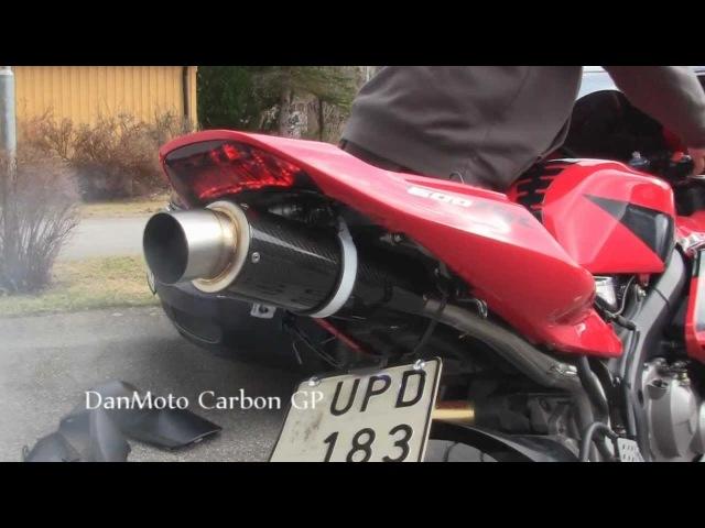 Honda CBR 600RR gets Danmoto Carbon GP exhaust