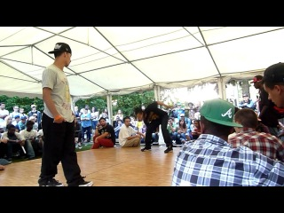 Majid (Old Future/Ghetto Style) vs. Batalla (ITC) - Hip Hop - Soul Train