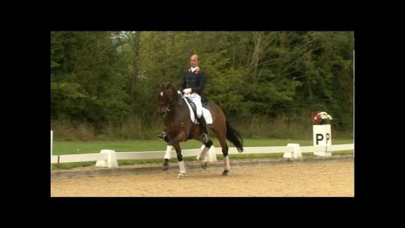 Hans Peter Minderhoud rides Escapado at the Dressage Masters (TRAILER)