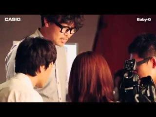 120711 Girls Generation (SNSD) - Casio Baby-G Making