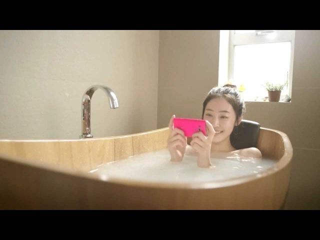 《Xperia™ acro S TVCM 樂無制限の第一回 自家風呂篇 》