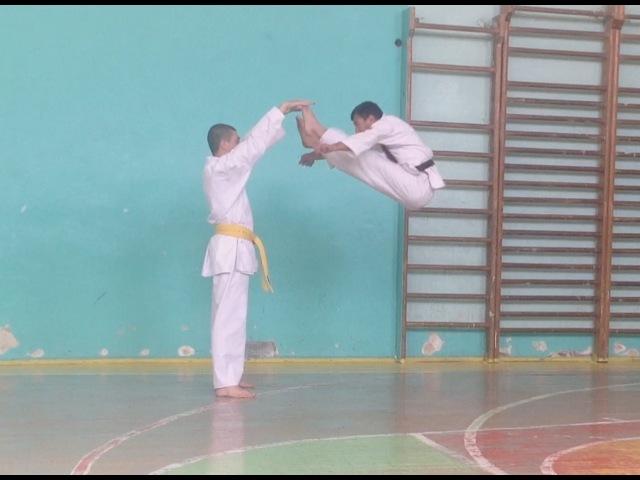 Tricks - Трюки - Karate / Sash Nalbandyan / Sensey. Armen Aloyan