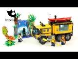 Lego City 60160 Jungle Mobile Lab - Lego Speed Build