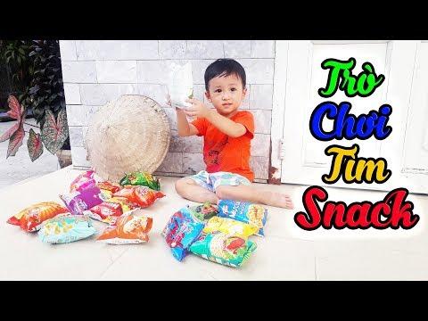 Trò Chơi Tìm Snack (Bim Bim) Cùng Khánh Thiên Baby - Sky Channel