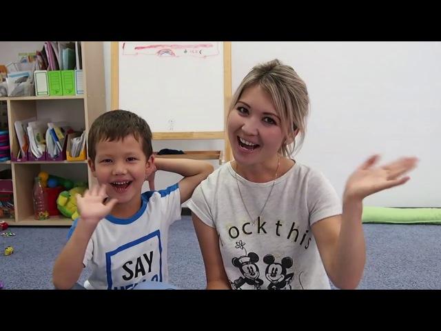 Английский для детей. Игра на закрепление лексики