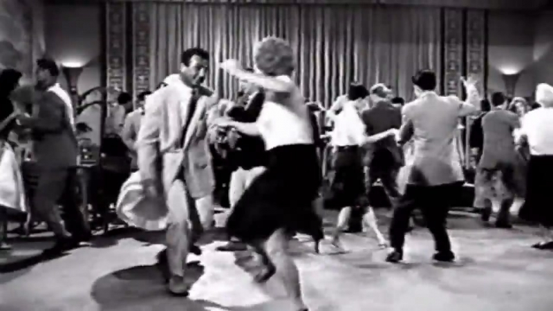 Real 1950s Rockn Roll, Rockabilly dance from lindy hop