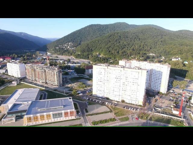 Лазаревское ул. Малышева. Река Псезуапсе. 4К(полный экран)