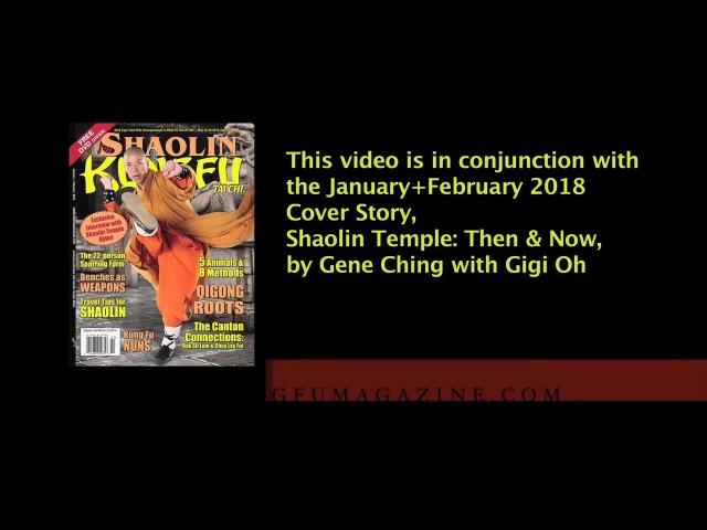 Shaolin Lashing Staff by Master Andy Ye Xinglie 葉興烈